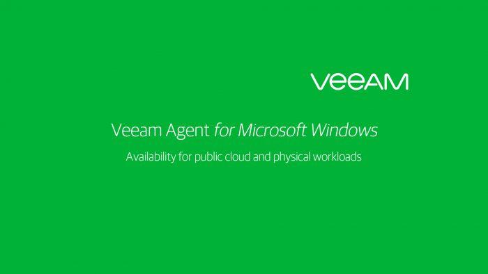 Veeam Agent for Windows