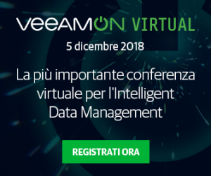 VeeamON Virtual 2018